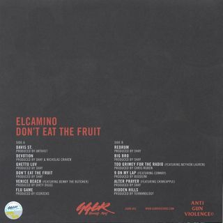 Elcamino / Don't Eat the Fruit back