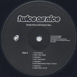 Gradis Nice & Scratch Nice / Twice As Nice label