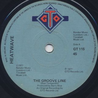 Heatwave / The Groove Line front