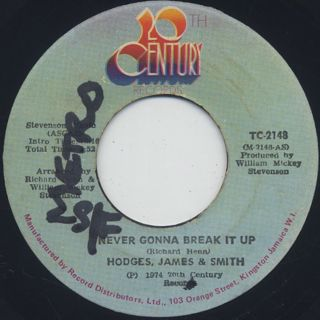 Hodges, James & Smith / Never Gonna Break It Up