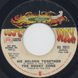 Honey Cone / Want Ads c/w We Belong Together back