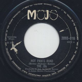 J.B.'s / Hot Pants Road c/w Pass The Peas