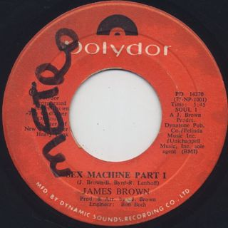James Brown / Sex Machine Part I