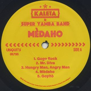 Kaleta & Super Yamba Band / Medaho label