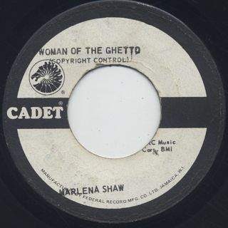 Marlena Shaw / Woman Of The Ghetto c/w I'm Satisfied