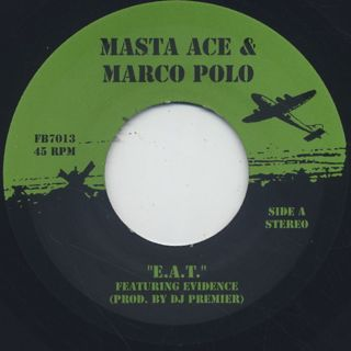 Masta Ace & Marco Polo / E.A.T. label