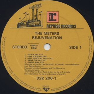 Meters / Rejuvenation label