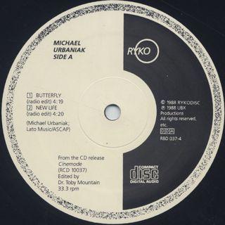 Michael Urbaniak / Cinemode 4 Track Sampler back