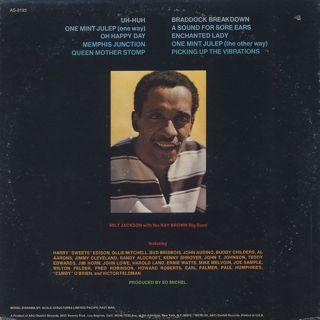 Milt Jackson / Memphis Jackson back
