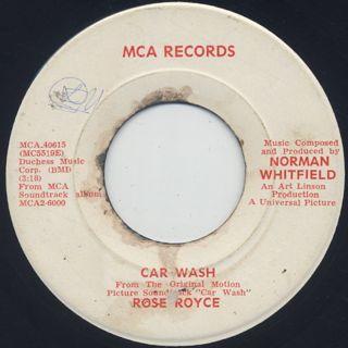 Rose Royce / Car Wash