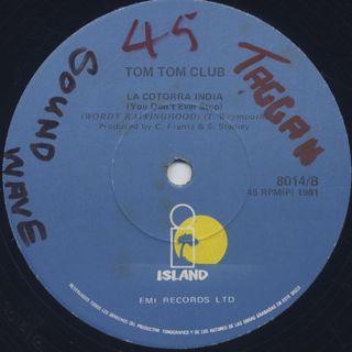 Tom Tom Club / Wordy Rappinghood back