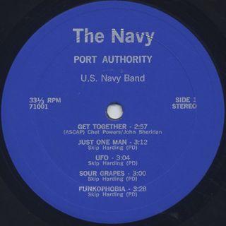 U.S. Navy Band / Port Authority label