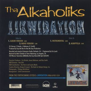 Alkaholiks / Likwidation back