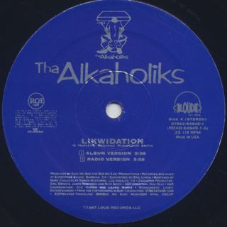 Alkaholiks / Likwidation label