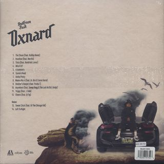 Anderson .Paak / Oxnard back