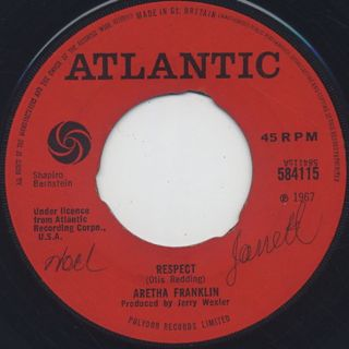Aretha Franklin / Respect front