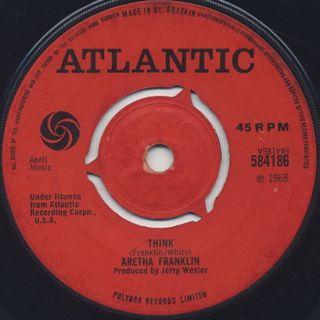 Aretha Franklin / Think c/w You Send Me