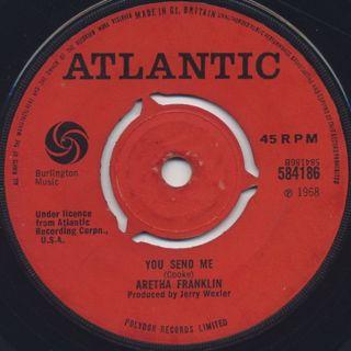 Aretha Franklin / Think c/w You Send Me back