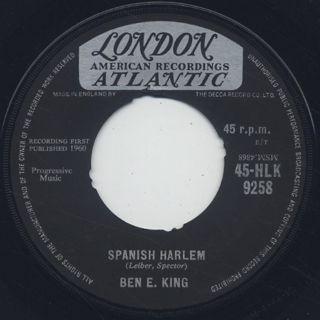 Ben E. King / Spanish Harlem c/w First Taste Of Love