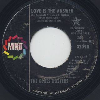 Blues Busters / Love Is The Answer