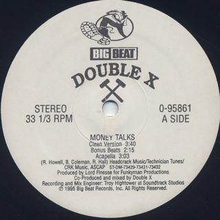 Double X / Money Talks label