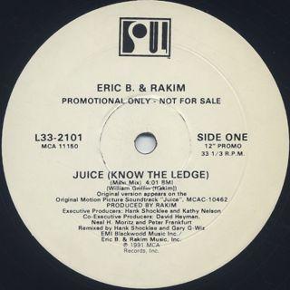 Eric B. & Rakim / Juice (Know The Ledge)