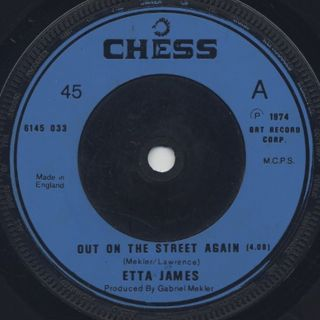 Etta James / Out On The Street Again