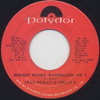 Fred Wesley & The JB's / Rockin' Funky Watergate
