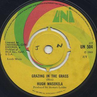 Hugh Masekela / Grazing In The Grass c/w Bajabula Bonke