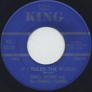 James Brown and The Famous Flames / I Got The Feelin' back