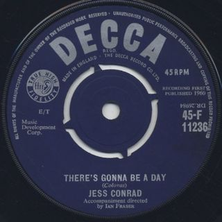 Jess Conrad / Cherry Pie back