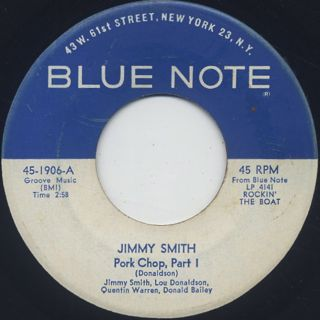 Jimmy Smith / Pork Chop front