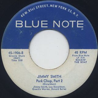 Jimmy Smith / Pork Chop back