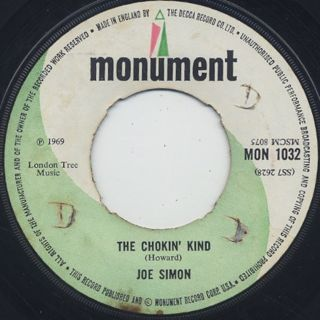 Joe Simon / The Chokin' Kind