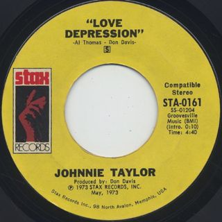 Johnnie Taylor / I Believe In You (You Believe In Me) back