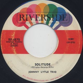 Johnny Lytle Trio / The Village Caller back