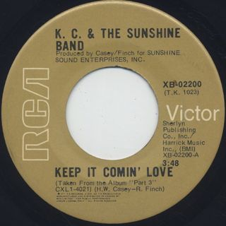 K.C. & The Sunshine Band / Keep It Comin' Love