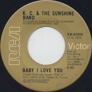 K.C. & The Sunshine Band / Keep It Comin' Love back