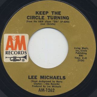 Lee Michaels / Keep The Circle Turning front