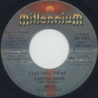 Meco / Star Wars Theme/Cantina Band