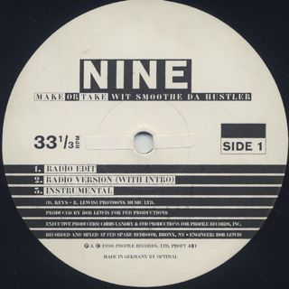 Nine / Make Or Take label