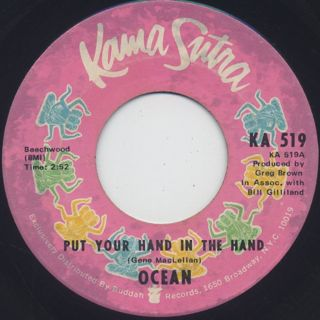 Ocean / Put Your Hand In The Hand