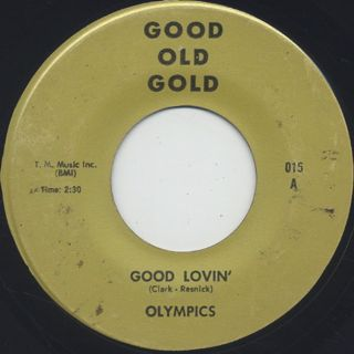 Olympics / Good Lovin' c/w Linda Jones / Hypnotized