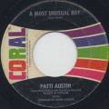 Patti Austin / A Most Unusual Boy c/w I Wanna Be Loved