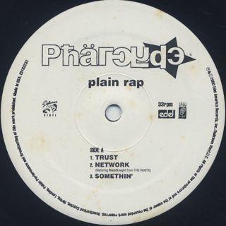 Pharcyde / Plain Rap label
