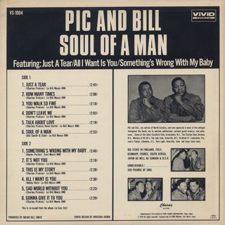 Pic And Bill / Soul Of A Man back