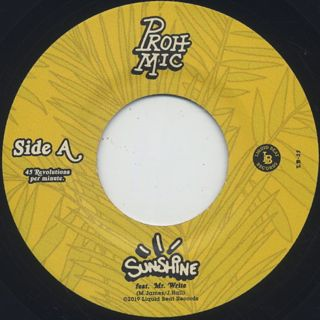 Proh Mic / Sunshine label