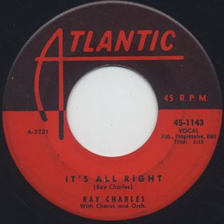 Ray Charles / It's All Right