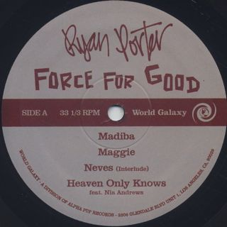 Ryan Porter / Force For Good label