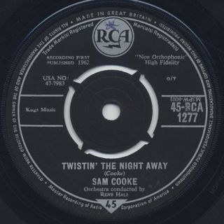 Sam Cooke / Twistin' The Night Away front